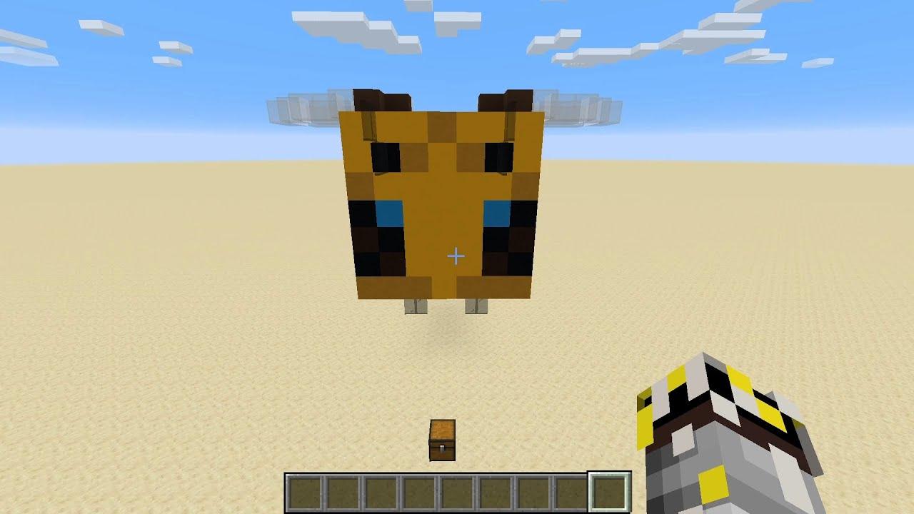 Minecraft Bee Pixel Art Tutorial YouTube