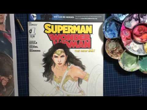 "Wonder Woman Dawn Of Justice ""Saturday Night Sketch"""