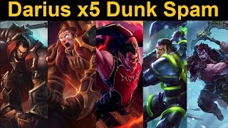 Darius x5 is Stupid - One for All Highlight Reel