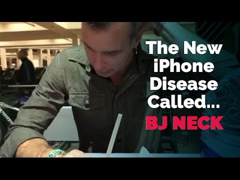 The Dangerous New iPhone Disease Called Blowjob Neck