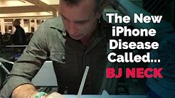 The Dangerous New iPhone Disease Called Blowjob Neck