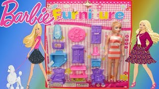 Pretty House Furniture play set – Kids Video – Baby Doll Bedroom Toy set