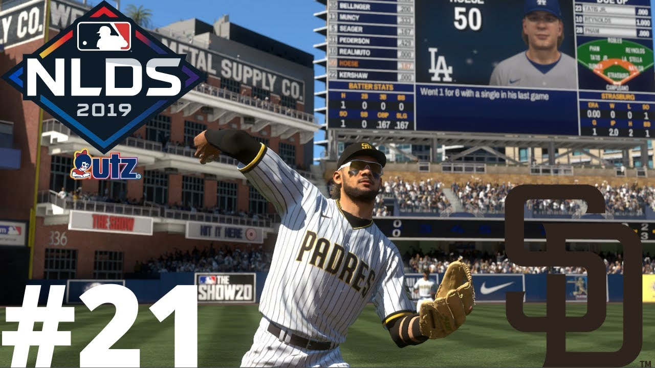 MLB THE SHOW 20 SAN DIEGO PADRES FRANCHISE EPISODE 21! (NLDS Game 1 vs. Dodgers)