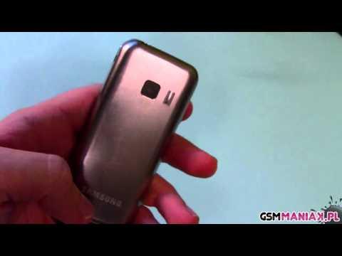 Wideo test i recenzja telefonu Samsung GT-C3530   techManiaK.pl