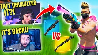 *UNVAULTED* Pump Shotgun vs. Combat Shotgun.. WHICH IS BETTER?! Feat. SypherPK