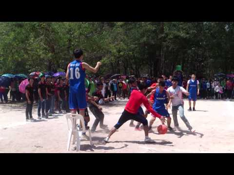 Mongolia Students VS Laos students [Basketball 2014]Lao Students sport