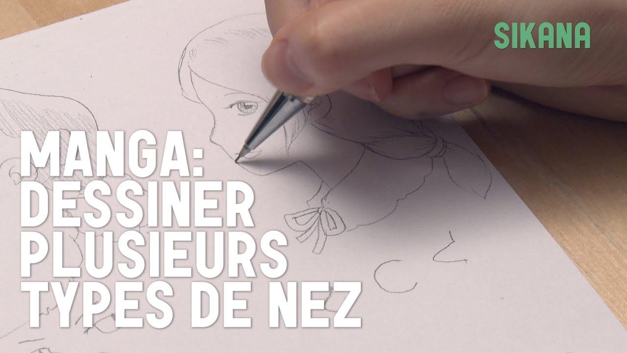 Manga dessiner plusieurs types de nez simplement - Differents types de miroirs ...