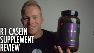 Rule 1 R1 Casein Protein Review | Micellar Casein Supplement(Rule 1 R1 Casein protein review by Managing Director Pat Dickson. Shop for Rule 1 R1 Casein here: https://spartansuppz.com/products/rule-1-r1-casein Rule 1 ..., 2016-08-07T05:00:43.000Z)