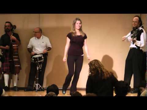 Scottish Fiddlers of Los Angeles tap dancer