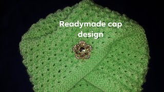 new knitting cap design,new knitting readymade design,new stylist topi