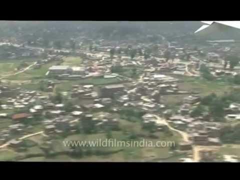 Men on top - in the plane, Delhi to Kathmandu..