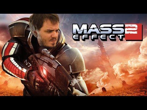Нарезка стрима от 18.10. 2016  Mass Effect 2 день 1