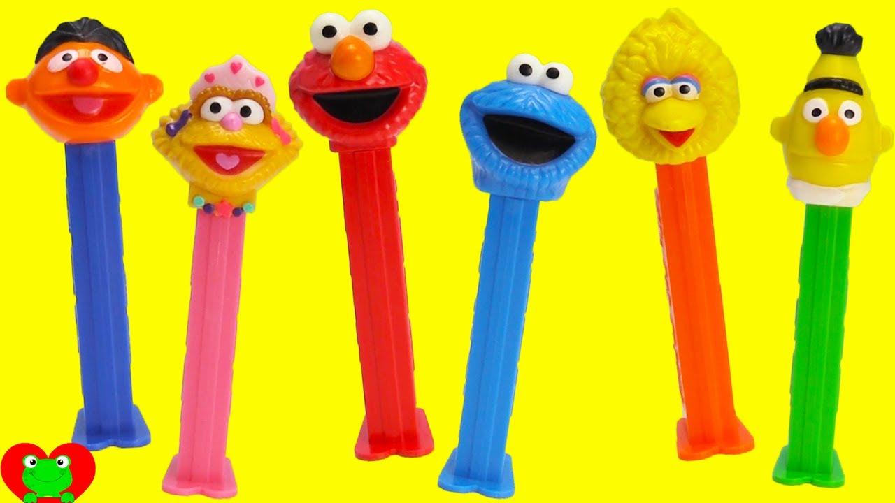 Sesame Street Pez Candy Dispensers