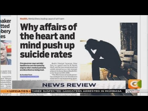 Image result for suicidal cases in 2018 in kenya