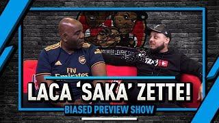 Laca 'Saka' Zette! Everton Next! | Biased Preview Show Ft Troopz