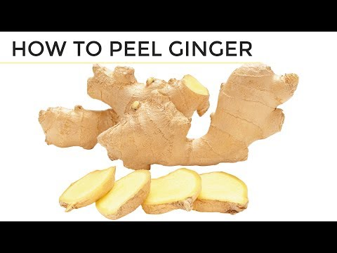 How To Peel Ginger | 2 Easy Ways
