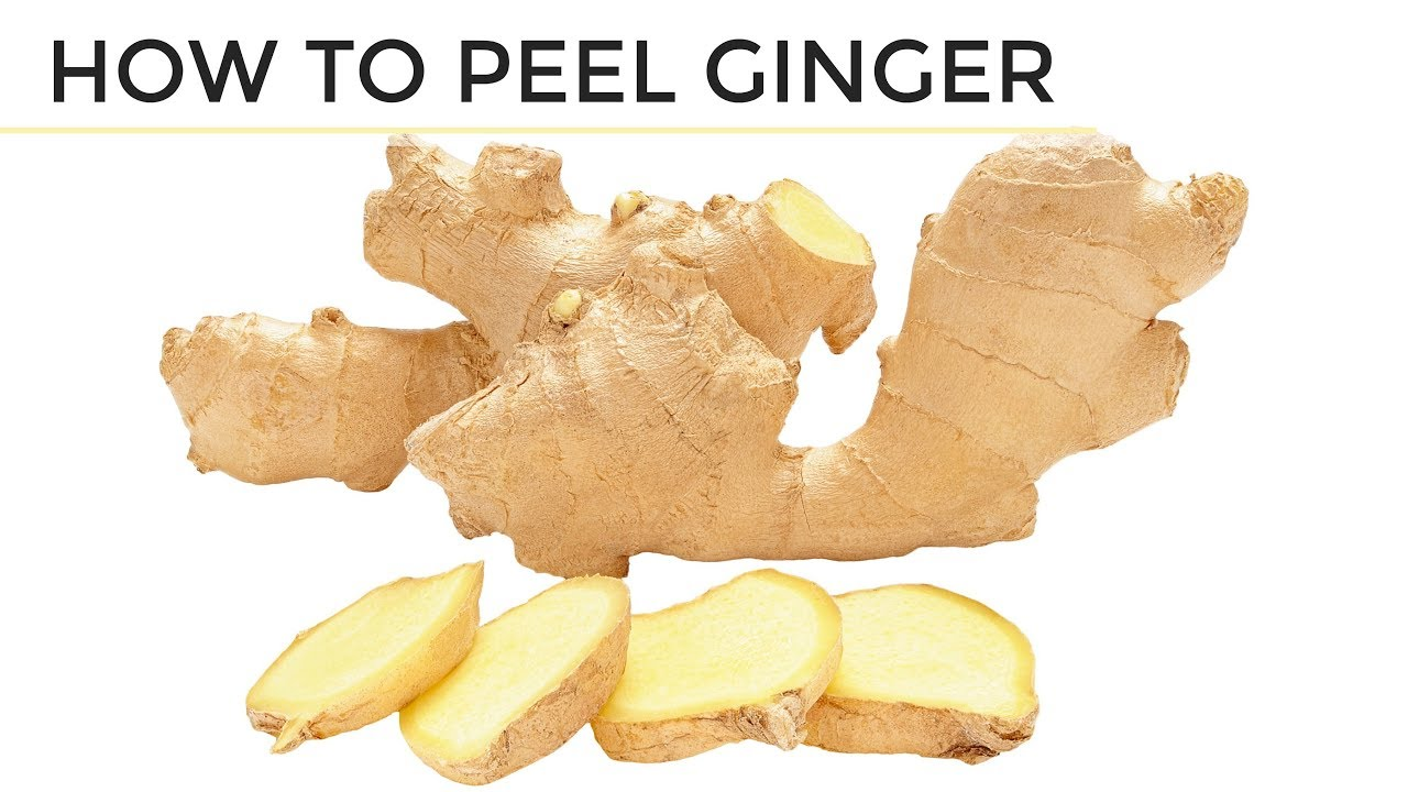maxresdefault - How To Peel Ginger | 2 Easy Ways