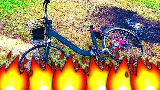 Is This Your Burnt Out Bike Urban Pyromania Crime Scene Investigation