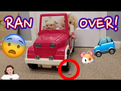 Baby Alive Emma Runs Over Class Pet! | Kelli Maple