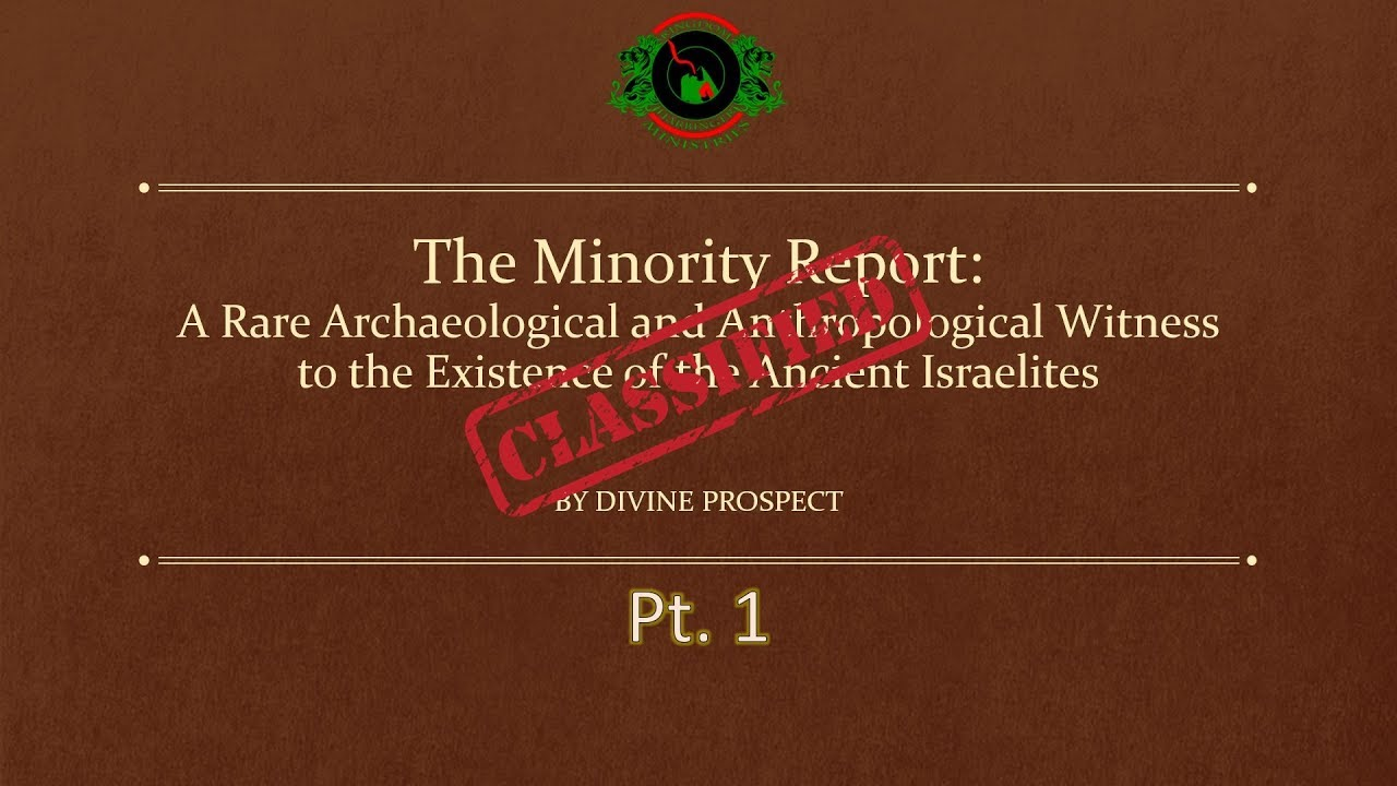 """The Minority Report Pt.1"" lecture (2015) OFFICIAL VIDEO"