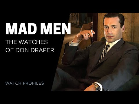 The Watches On Mad Men | SwissWatchExpo [Watch Collection]