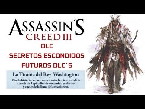 Assassin´s Creed 3 Guía Todos los trajes-DLC Secretos escondidos-DLC la tiranía de Washington