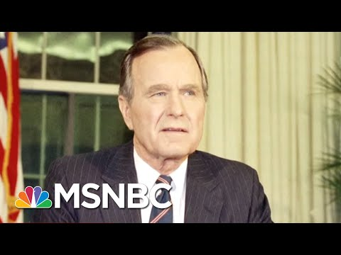 Former President George HW Bush Hospitalized | Hardball | MSNBC