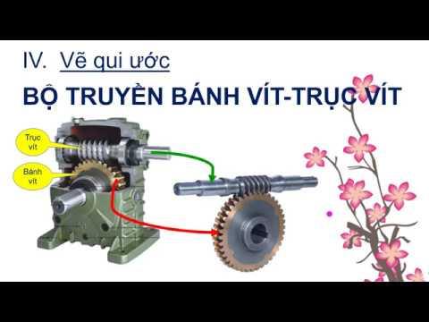 #vecokhi #banhvittrucvit #wormwheel | BỘ TRUYỀN BÁNH VÍT _ TRỤC VÍT