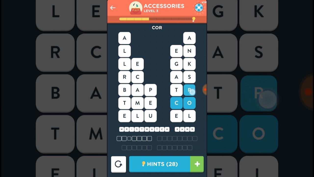 Wordbrain 2 Level Virtuoso Accessories Level 1 5 Answer