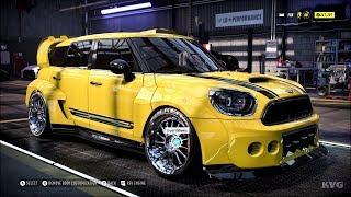 Need for Speed Heat - MINI JCW Countryman 2017 - Customize | Tuning Car (PC HD) [1080p60FPS]
