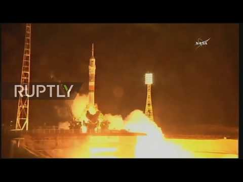 Kazakhstan: Soyuz capsule blasts into space from Baikonur