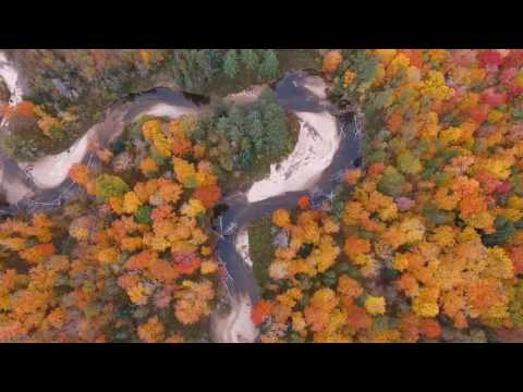 Drone NH - Fall Foliage in New Hampshire 2016