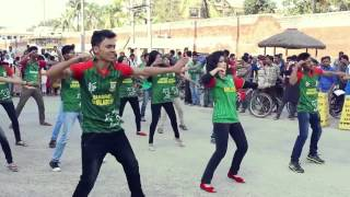 Cricket World Cup 2015, Flash mob Bangladesh