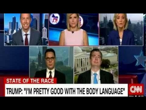 "TRUMP INTERPRETS ""BODY LANGUAGE"" ON INTEL EXPERTS ON CNN Breaking News"