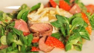 Рецепт салата с сыром камамбер - Основной инстинкт. Выпуск 10