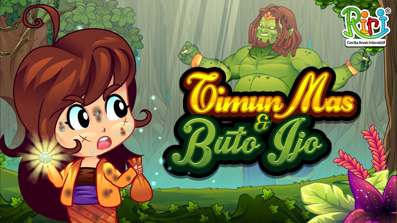 Timun Mas Dan Buto Ijo Bed Time Stories For Indonesian Children