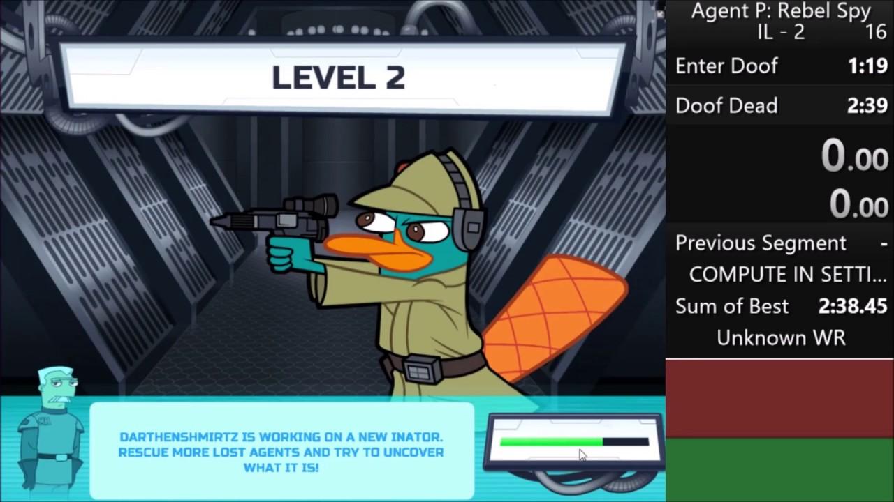 Agent P Rebel Spy - Vex 3 Game
