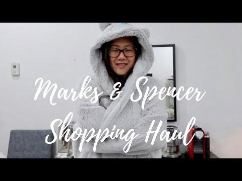 Vlog No. 222 - Shopping at Marks & Spencer + Clothing & Food Haul | Short Throwback Clip | SAHM Life