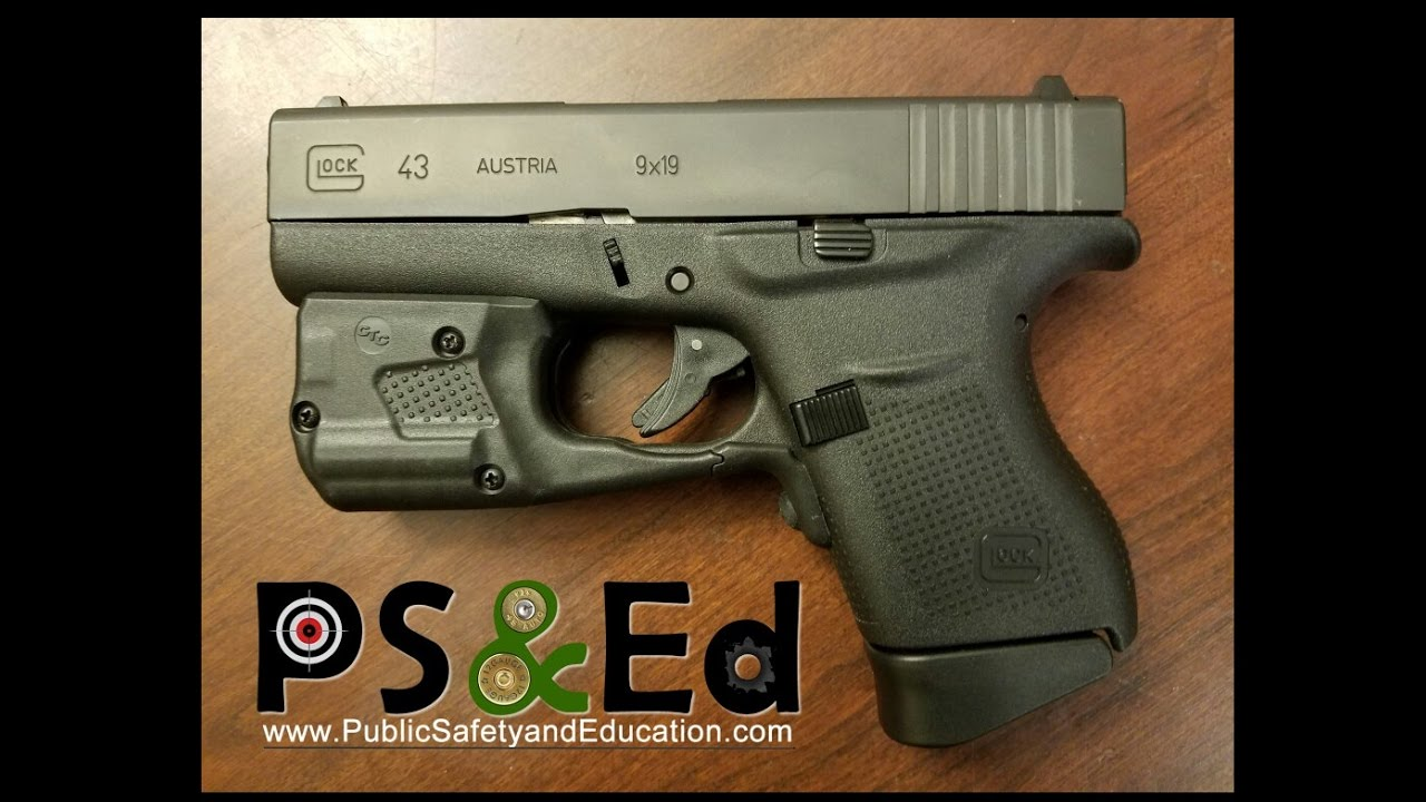 Crimson Trace Install On A Glock 43 Youtube