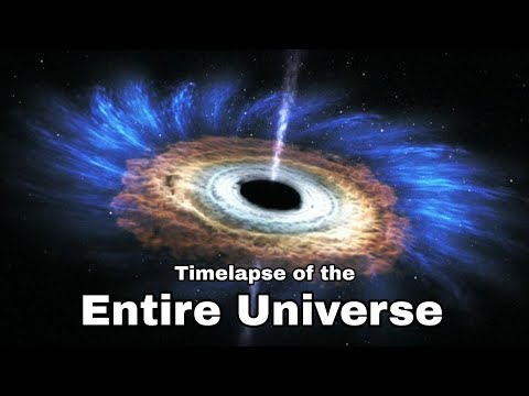 Time Lapse of The entire Universe [4k]