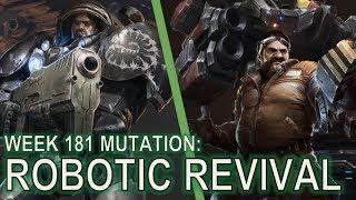 Starcraft II: Co-Op Mutation #181 - Robotic Revival [Mass Battlecruisers]