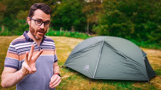 Can You Get a High Quality Tent for $90? // Hyke & Byke Zion 1 Ultralight Backpacking Tent Review