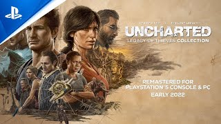 PS5| Uncharted: 레거시 오브 시브즈 컬렉션 - PlayStation 쇼케이스 2021 트레일러 (한글 자막)