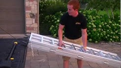 Proper Quad Load Tri-folding Ramps | Mark Freeman #408