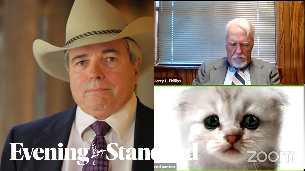 Meet 'cat lawyer' Rod Ponton who went viral after Zoom filter mishap