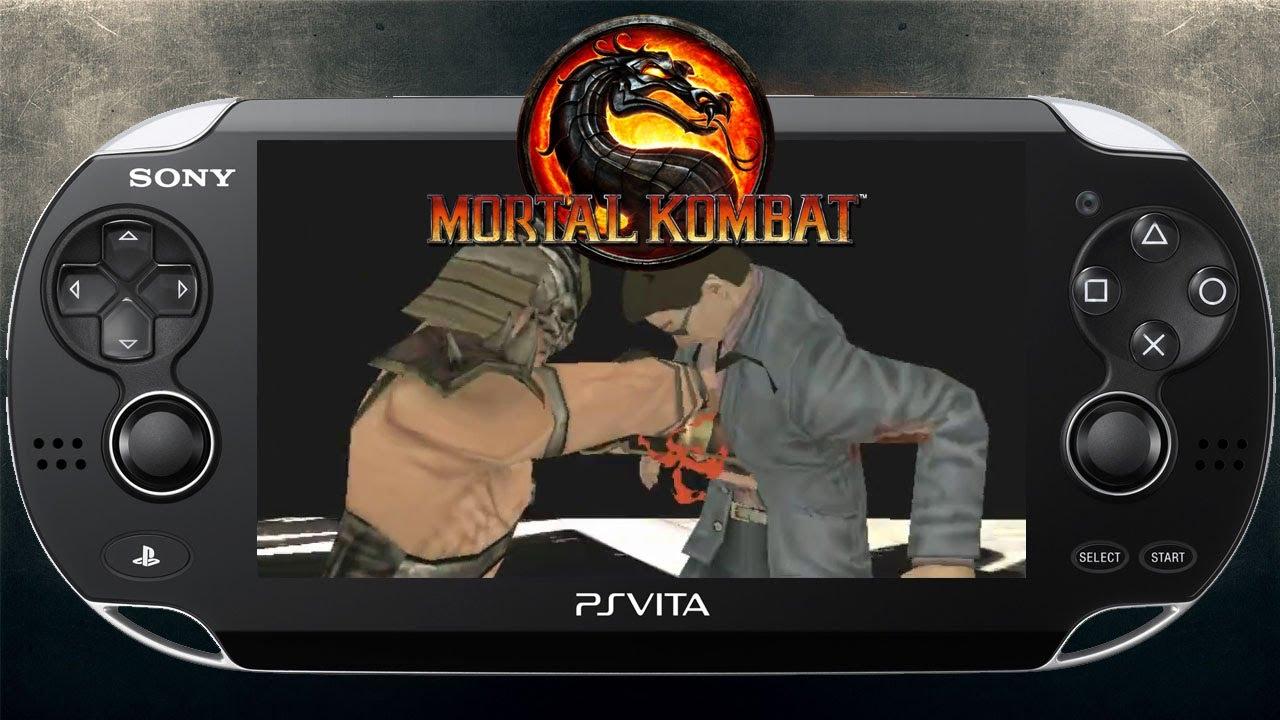 Mortal Kombat 9 'PS Vita Trailer' TRUE-HD QUALITY