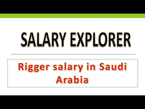 Rigger salary in saudi Arabia
