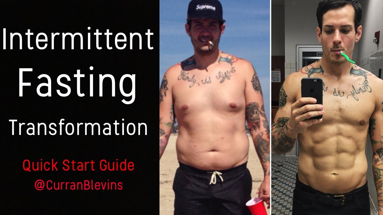 Intermittent Fasting Results If Crash Course Before After Youtube
