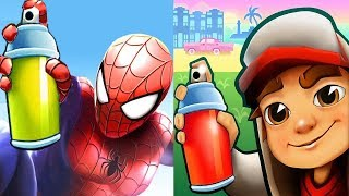 Subway Surfers Havana JAKE vs SPIDER-MAN Gameplay HD