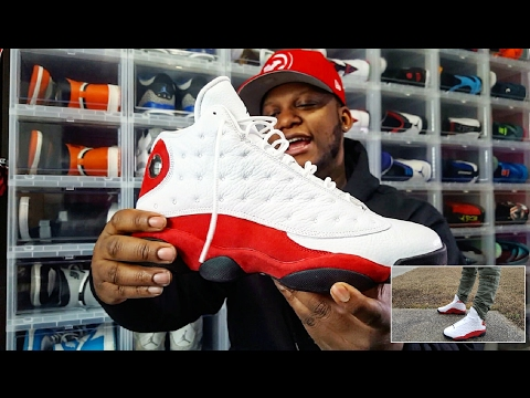 JORDAN 13 'CHICAGO/CHERRY' REVIEW AND ON FEET!!!